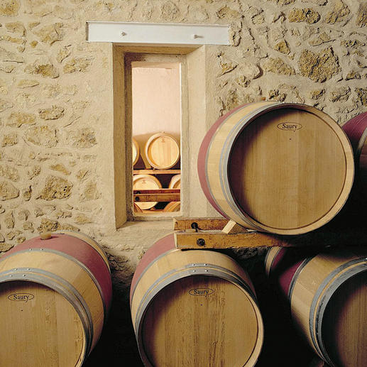 Weinkeller der Domaines Lapalu.