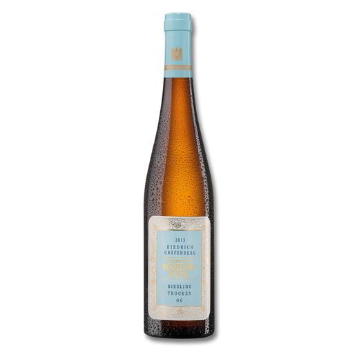 """Robert Weil Kiedrich Gräfenberg Großes Gewächs 2013, Kiedrich, Rheingau, Deutschland - """"… perfekt gewobener Knockout-Riesling."""" (Robert Parker, www.robertparker.com, Wine Advocate 216, 01/2015"""