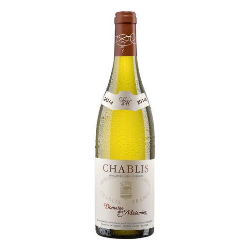 Chablis AOC, Domaine des Malandes, Frankreich - Mineralisch und delikat. Die pure Eleganz des Chablis.
