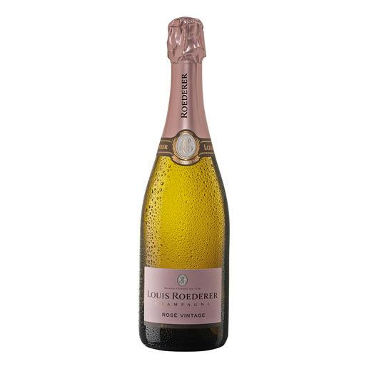 """Roederer Brut Rosé, Louis Roederer, Champagne AOC, Frankreich - """"Fein gewebt, delikat und rassig."""" (Wine Spectator, www.winespectator.com)"""