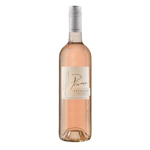 Plume Rosé 2015, Domaine La Colombette, Vin de Pays des Coteaux du Libron, Languedoc, Frankreich - Trocken. Nur 9 % Alkohol. Aber 100 % Genuss.