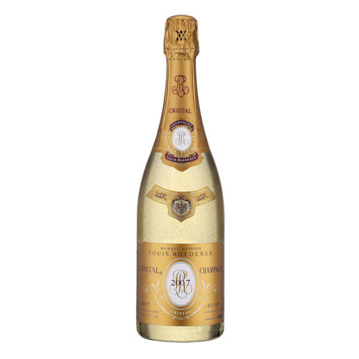 Champagne Louis Roederer Cristal 2007, Champagne AOC, Reims, Frankreich - 100 Punkte bei Wine & Spirits für den Jahrgang 2002 (Ausgabe 11/2010)