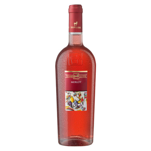 Merlot Rosato 2015, Tenuta Ulisse, Abruzzen, Italien - Der beste Rosé Italiens. Unter 350 (!) Konkurrenten. (Annuario dei Migliori Vini Italiani 2016)