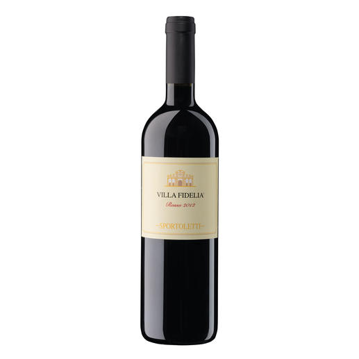 Villa Fidelia Rosso 2012, Sportoletti, Umbrien, Italien - Seltene Einigkeit. Bei einem Wein für 14,95 €.