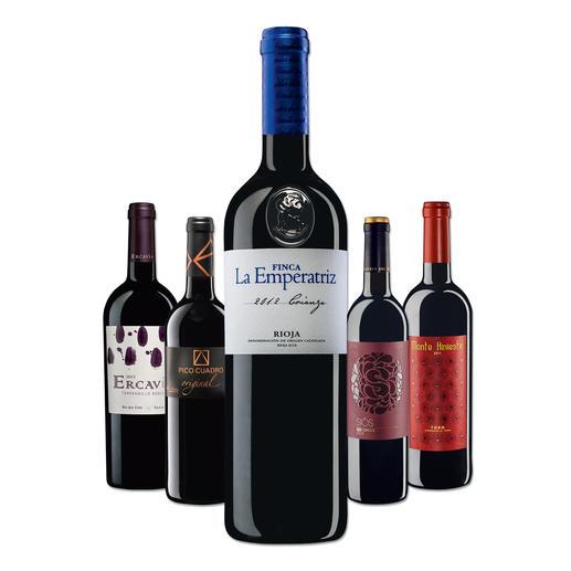 """Testpaket der Nominierten """"Tempranillo bis 10 Euro, Mai 2016"""" - Pro-Idee Wine Competition"""
