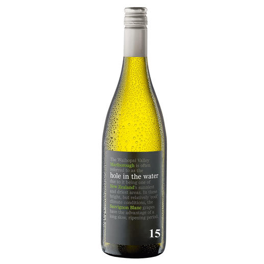 Hole in the Water Sauvignon Blanc 2015, Waihopai Valley, Konrad & Co Wines, Marlborough, Neuseeland - Aus dem Filet-Weinberg der neuseeländischen Sauvignon Blancs.