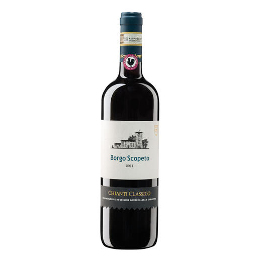 """Chianti Classico Borgo Scopeto 2011, Toskana, Italien Der Sieger unserer Wine Competition """"Toskana bis 15 Euro, September 2016"""" (Von 48 verkosteten Weinen unter 15 Euro aus der Toskana)"""