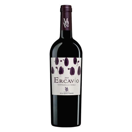 """Ercavio Tempranillo Roble, Bodegas Más Que Vinos, Tierra de Castilla, Spanien """"Schmeckt wie ein wesentlich teurerer Wein…"""" (Robert Parker über den Jahrgang 2014, Wine Advocate 225, 06/2016)"""