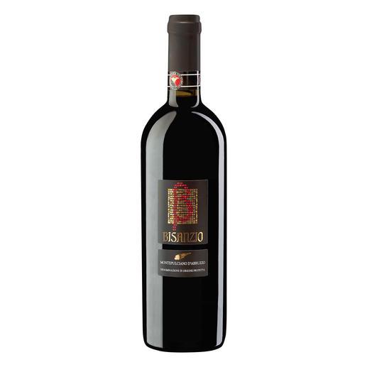 """Montepulciano d`Abruzzo """"Bisanzio"""" DOC 2016, Citra, Abruzzen, Italien """"3-Gläser-Weine"""" machten ihn berühmt. Wirklich sensationell aber ist dieser Montepulciano."""