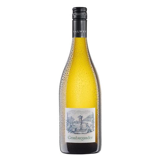 Grauburgunder Nepomuk QbA 2015, Weingut Salwey, Oberrotweil, Kaiserstuhl, Deutschland Solch ein Pinot Gris kann nur vom Kaiserstuhl kommen.