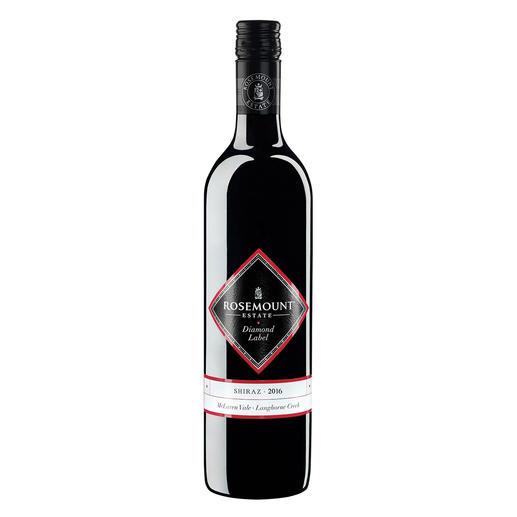 """Shiraz Rosemount Diamond Label 2016, Rosemount Estate, Australien """"Wir könnten diesen Wein in jedem Jahr in unserer Top-100-Liste lassen."""" (Wine Spectator, 12/1994)"""