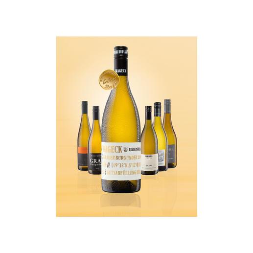 Testpaket der Nominierten: Grauburgunder bis 10 Euro, Oktober 2016 Pro-Idee Wine Competition