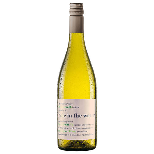 Hole in the Water Sauvignon Blanc 2016, Waihopai Valley, Konrad & Co Wines, Marlborough, Neuseeland Aus dem Filet-Weinberg der neuseeländischen Sauvignon Blancs.