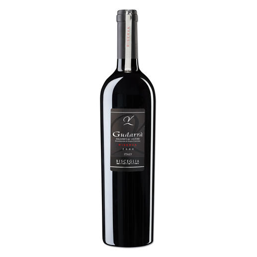 "Gudarra Riserva 2008, Vulcano & Vini, Basilikata, Venosa, Italien ""Ein Meisterwerk."" (Robert Parker, Wine Advocate 226, 08/2016)"