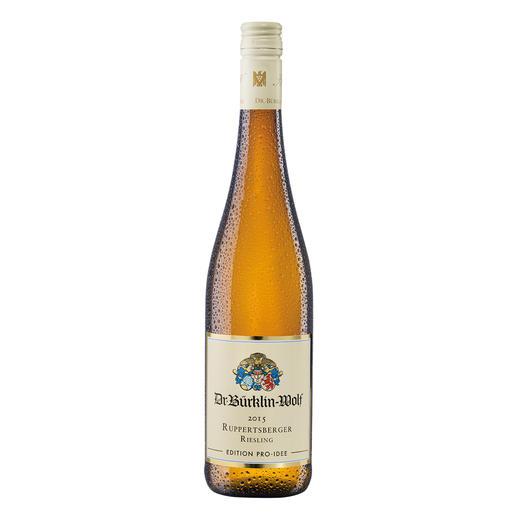 Ruppertsberger Riesling 2015, Weingut Dr. Bürklin-Wolf, Wachenheim, Pfalz, Deutschland Aus der Lage eines Großen Gewächses. Zum Preis eines Ortsweines.