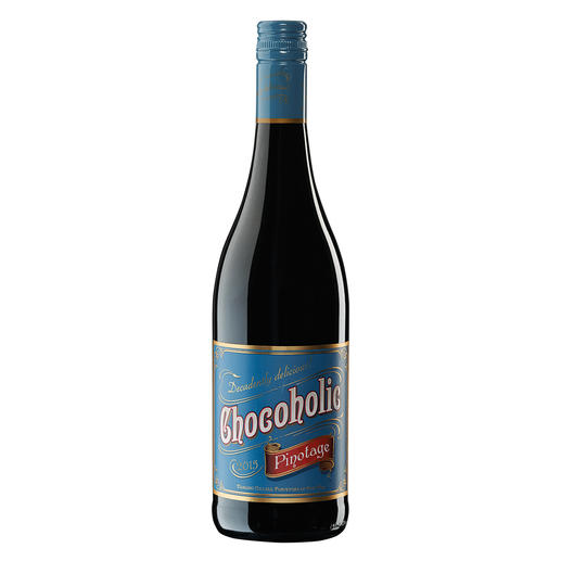 Chocoholic Pinotage 2015, Darling Cellars, Südafrika Moderne Weinmacher-Kunst par excellence.