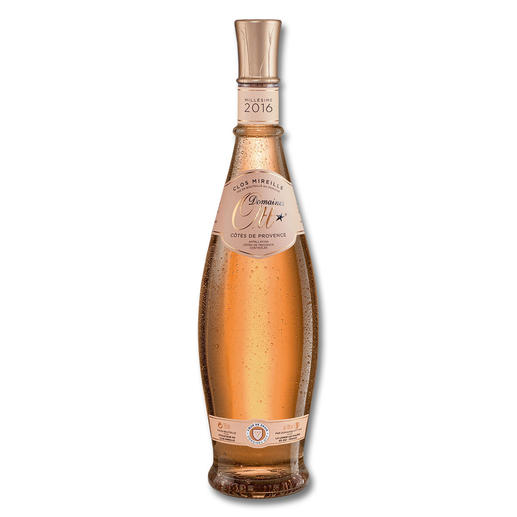 Domaine Ott Rosé 2016, Clos Mireille, Côtes de Provence AOC, Cru Classé, Frankreich Der wohl beste Rosé der Welt. Nicht einmal so teuer wie eine normale Flasche Champagner.