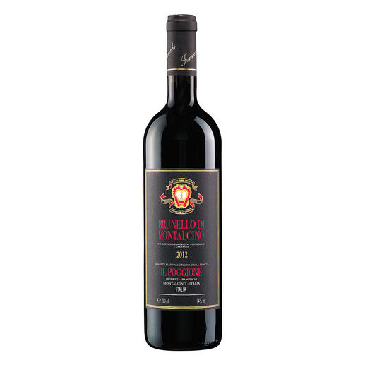 "Brunello di Montalcino 2012, Tenuta Il Poggione, Toskana, Italien - ""…einer meiner Favoriten des Jahrgangs."" (Robert Parker, www.robertparker.com, Wine Advocate 223, 03/2016.)"