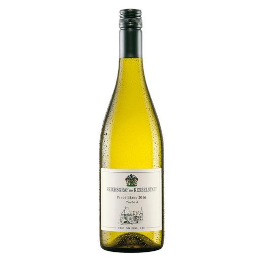 Pinot Blanc 2016, Reichsgraf von Kesselstatt, Mosel, Deutschland, EDITION PRO-IDEE Sie macht Weine mit 94 Parker-Punkten. Doch ihr Pinot Blanc von der Mosel ist die wahre Überraschung.
