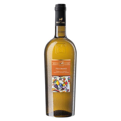 Pecorino 2016, Tenuta Ulisse, Abruzzen, Italien 96 Punkte von Luca Maroni. (Annuario dei Migliori Vini Italia 2018)