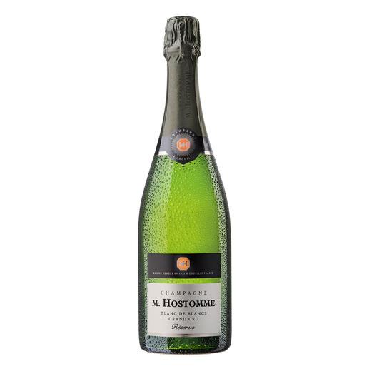 "Champagne Hostomme Blanc de Blancs Reserve, Frankreich - ""Ein First Class-Champagner. 90+ Punkte. ""(Robert Parker, www.robertparker.com, Interim Report, 31.01.2017)"