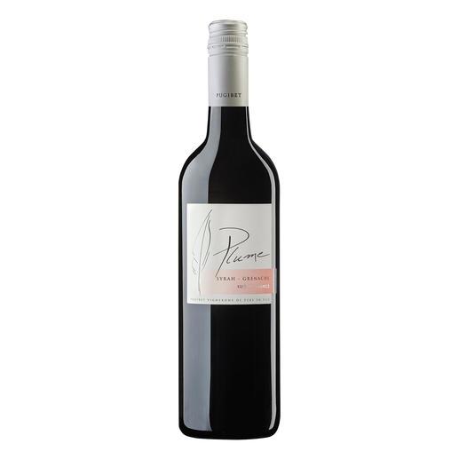 Plume Rouge 2015, Domaine La Colombette, Coteaux du Libron, Languedoc, Frankreich Trocken. Nur 9 % Alkohol. Aber 100 % Genuss.