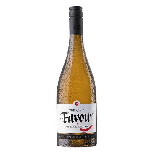 """Sauvignon The King's Favour 2016, Marisco Vineyards Ltd., Marlborough, Neuseeland Der Weißwein des Jahres aus der """"neuen Welt""""."""