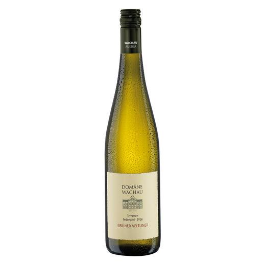 """Grüner Veltliner Federspiel """"Terrassen"""" 2016, Qualitätswein, Domäne Wachau, Österreich - Der Weißwein des Jahres aus Österreich. (Weinwirtschaft 01/2009)"""