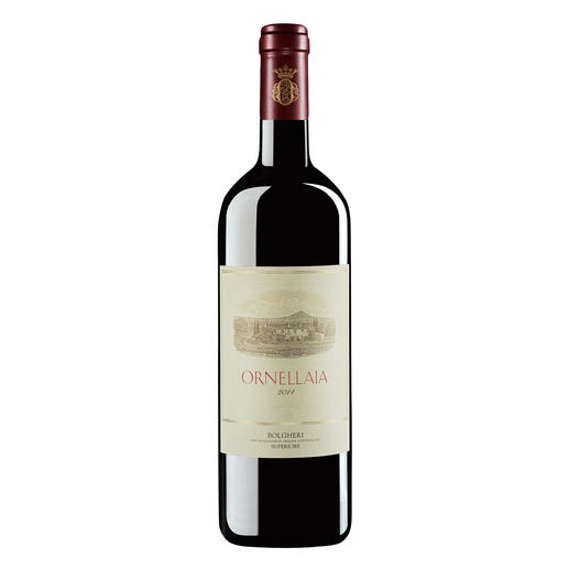 Ornellaia 2014, Tenuta dell`Ornellaia, Bolgheri, Toskana, Italien - Der absolute Kultwein aus dem Bolgheri.