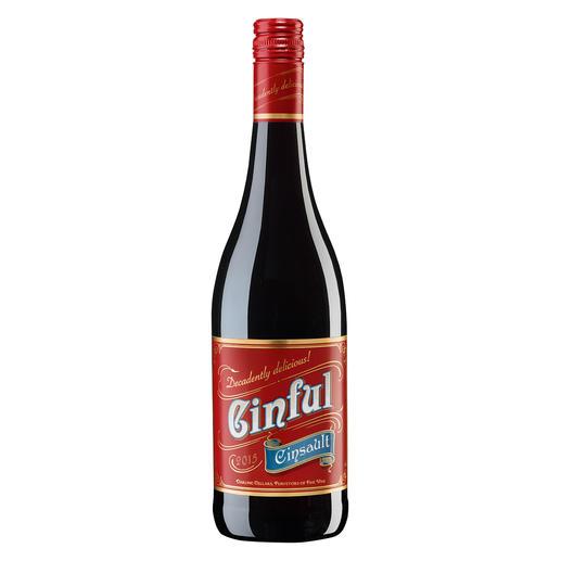 Cinful 2015, Darling Cellars, Darling, Südafrika - Cinsault – oft verkannt. Und selten so verführerisch.