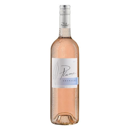 Plume Rosé 2017, Domaine La Colombette, Coteaux du Libron, Languedoc, Frankreich - Trocken. Nur 9 % Alkohol. Aber 100 % Genuss.