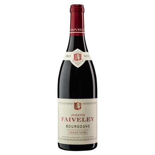 Pinot Noir Faiveley 2015, Bourgogne, Frankreich - Seltenheit: ein roter Burgunder, der durch sein Preis-Genuss-Verhältnis überzeugt.