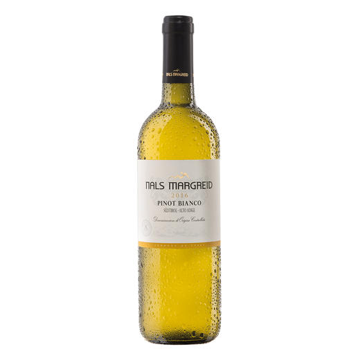 """Pinot Bianco Nals Margreid 2016, Südtirol, Italien - """"Ein fantastischer Weinwert. 92 Punkte."""" (James Suckling, www.jamessuckling.com, 20.10.2017)"""
