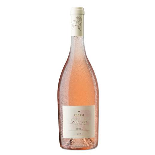 Izadi Rosado 2017, Bodegas Izadi, Rioja, Spanien - Die Eleganz eines Rosé de Provence? Oder die Fülle eines spanischen Rosado? Hier ist die perfekte Kombination.
