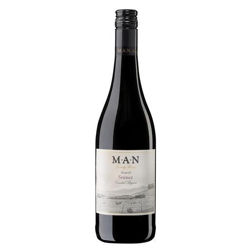 Skaapveld Shiraz 2016, MAN Family Wines, Stellenbosch, Südafrika - Einen besseren Shiraz unter 7 € haben wir nicht gefunden.