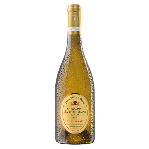 Muscadet Vieilles Vignes 2016, Domaine Salmon, Loire, Frankreich 96 (!) Punkte bei den Decanter World Wine Awards 2016. (www.decanter.com über den Jahrgang 2015)