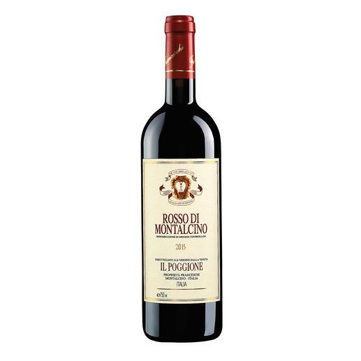 Rosso di Montalcino 2015, Tenuta Il Poggione, Toskana, Italien In einigen Jahren wird der Wein von diesen Reben deutlich mehr als das Doppelte kosten.