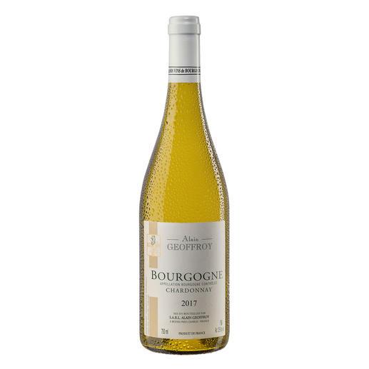 Bourgogne Chardonnay 2017, Domaine Alain Geoffroy, Burgund, Frankreich Seltenheit: Ein Bourgogne Chardonnay, der durch sein Preis-Genuss-Verhältnis überzeugt.