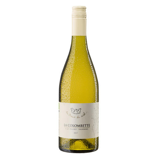 """La Colombette Cabernet Blanc 2017, Domaine La Colombette, Languedoc, Frankreich - Weinbau ganz ohne Pestizide und Fungizide? Von Frankreichs """"innovativstem Winzer 2018"""". (La Revue de Vin de France, Ausgabe Februar 2018)"""
