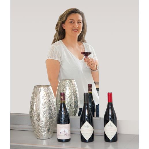 Weinmacherin Caroline Charrier
