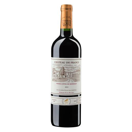 Château de Francs 2015, Francs, Bordeaux, Frankreich Der bezahlbare Bordeaux mit dem Know-how von Château Cheval Blanc.