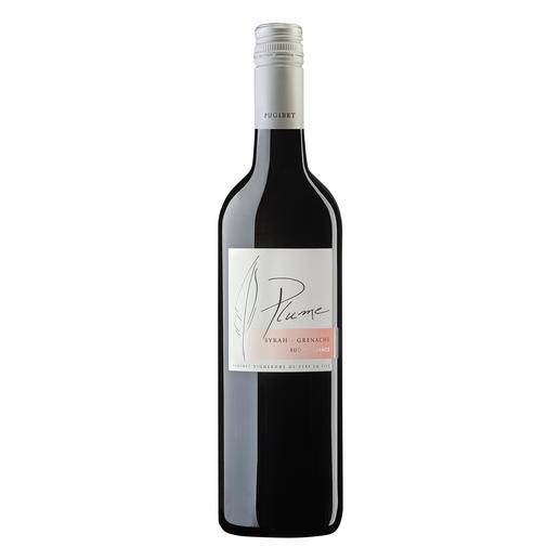 Plume Rouge 2016, Domaine La Colombette, Coteaux du Libron, Frankreich - Trocken. Nur 9 % Alkohol. Aber 100 % Genuss.