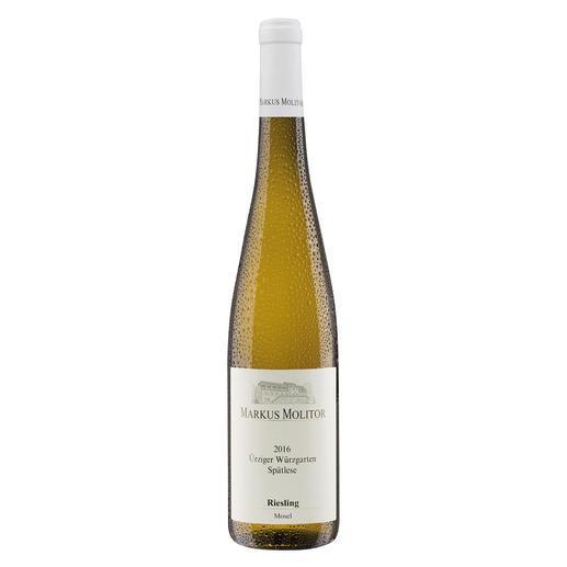 """Ürziger Würzgarten Spätlese 2016, Markus Molitor, Mosel, Deutschland - """"… großartige Komplexität. 95+ Punkte."""" (Wine Advocate Interim Issue, 03/2018)"""