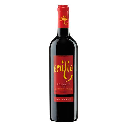 Emilio Merlot 2015, Bordeaux, Frankreich - 17 (!) Jahrgänge machte er 500-Euro-Weine. Hier ist sein neuester Coup.