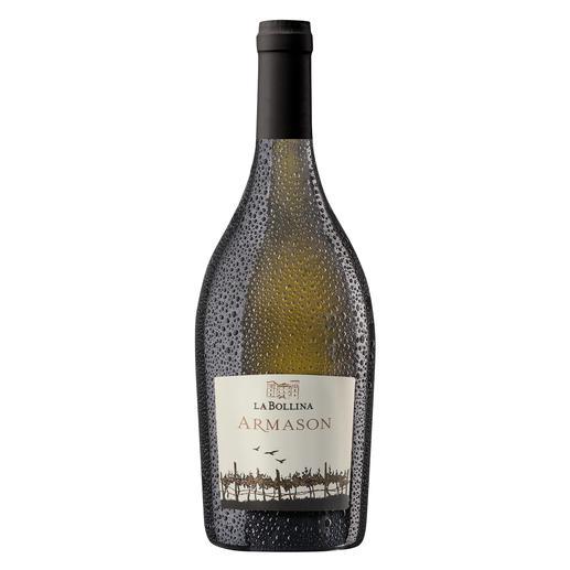 """Armason 2017, La Bollina, Piemont, Italien - """"Einer der besten Weißweine Italiens. 96 Punkte."""" (Luca Maroni über den Jahrgang 2012, lucamaroni.com, 08.07.2013)."""