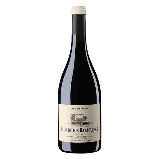 Vino de Pago Syrah 2015, Bodegas Vegalfaro, Utiel-Requena, Spanien - Zwei seltene Auszeichnungen: Vino de Pago. Und 96 Punkte von James Suckling. (www.jamessuckling.com, 02.08.2018)