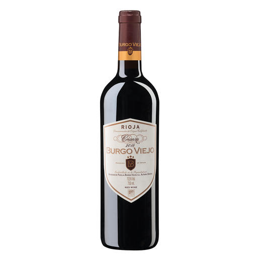 Burgo Viejo Crianza 2016, Bodegas de Familia Burgo Viejo, Rioja, Spanien - Rioja. 92 Punkte von James Suckling.(www.jamessuckling.com, 02.08.2018)