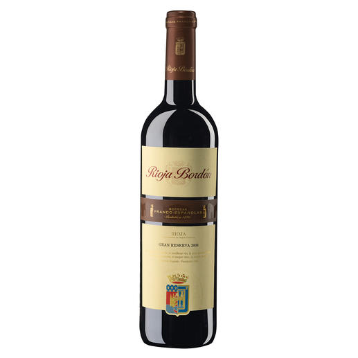 "Bordon Gran Reserva 2008, Bodegas Franco Españolas, Rioja, Spanien - Der ""Rioja des Jahres 2017"". (Wine & Spirits Magazine 06/2018)"