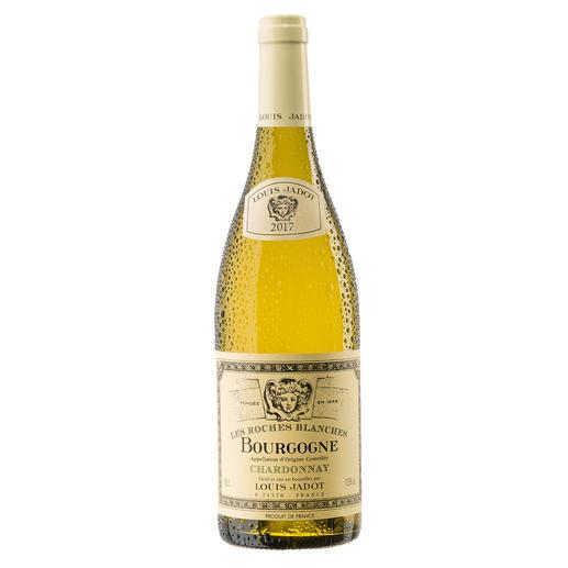 """Bourgogne Chardonnay """"Les Roches Blanches"""" 2017, Louis Jadot, Burgund, Frankreich - Endlich ein weißer Burgunder, der seinen Namen verdient."""