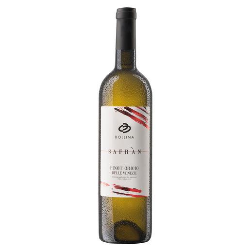 "Pinot Grigio delle Venezie ""Safran"" 2018, La Bollina, Venetien, Italien 97 Punkte (www.lucamaroni.com)"